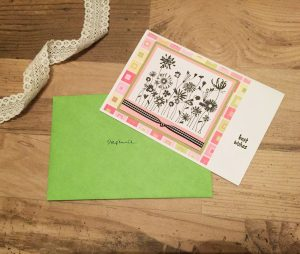 going away card happy wishes goodbye team handmade greeting lace bamboo