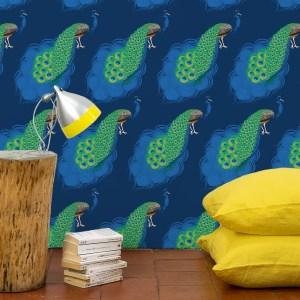 StephanieDesbenoit-wallpaper-birds-peacock-blue-3