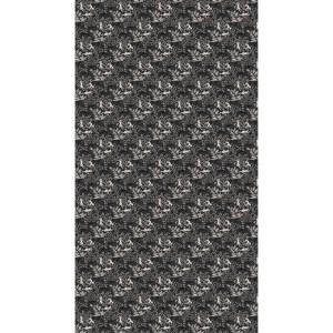tissu_panneau_140x255cm_metamorphosis_black panthers noir_raccor