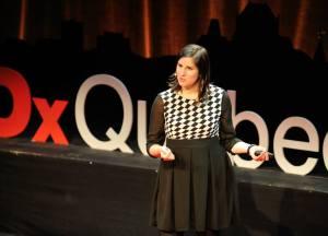 Stéphanie Deslauriers TEDXQc 2014