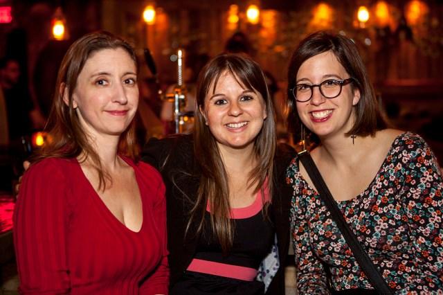 Une auteure et deux chroniqueuses littéraires