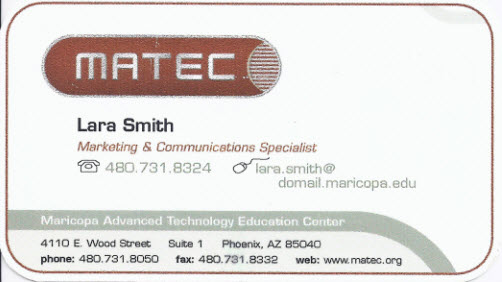 What Business Cards Can Teach Us About Evaluation Reports