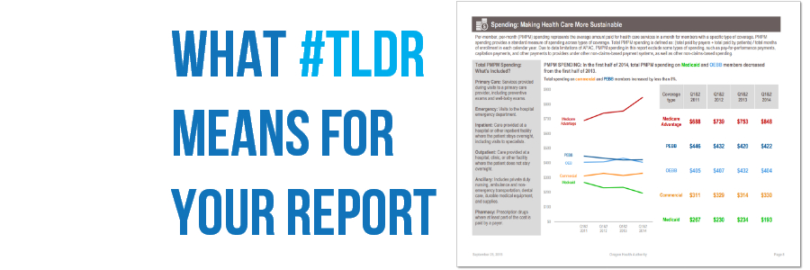What #TLDR Means For Your Report