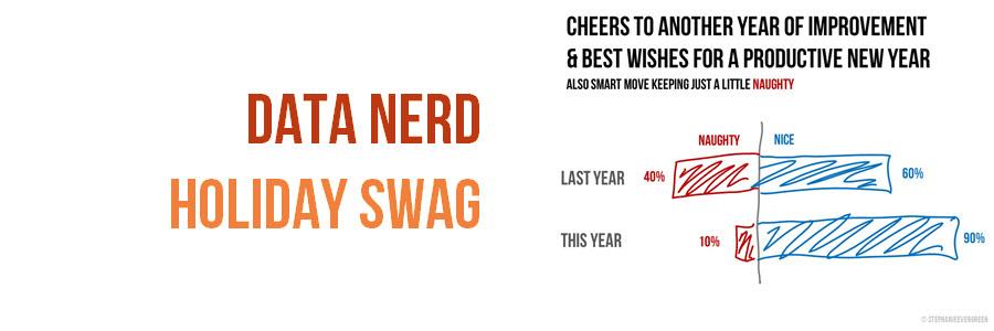 Data Nerd Holiday Swag