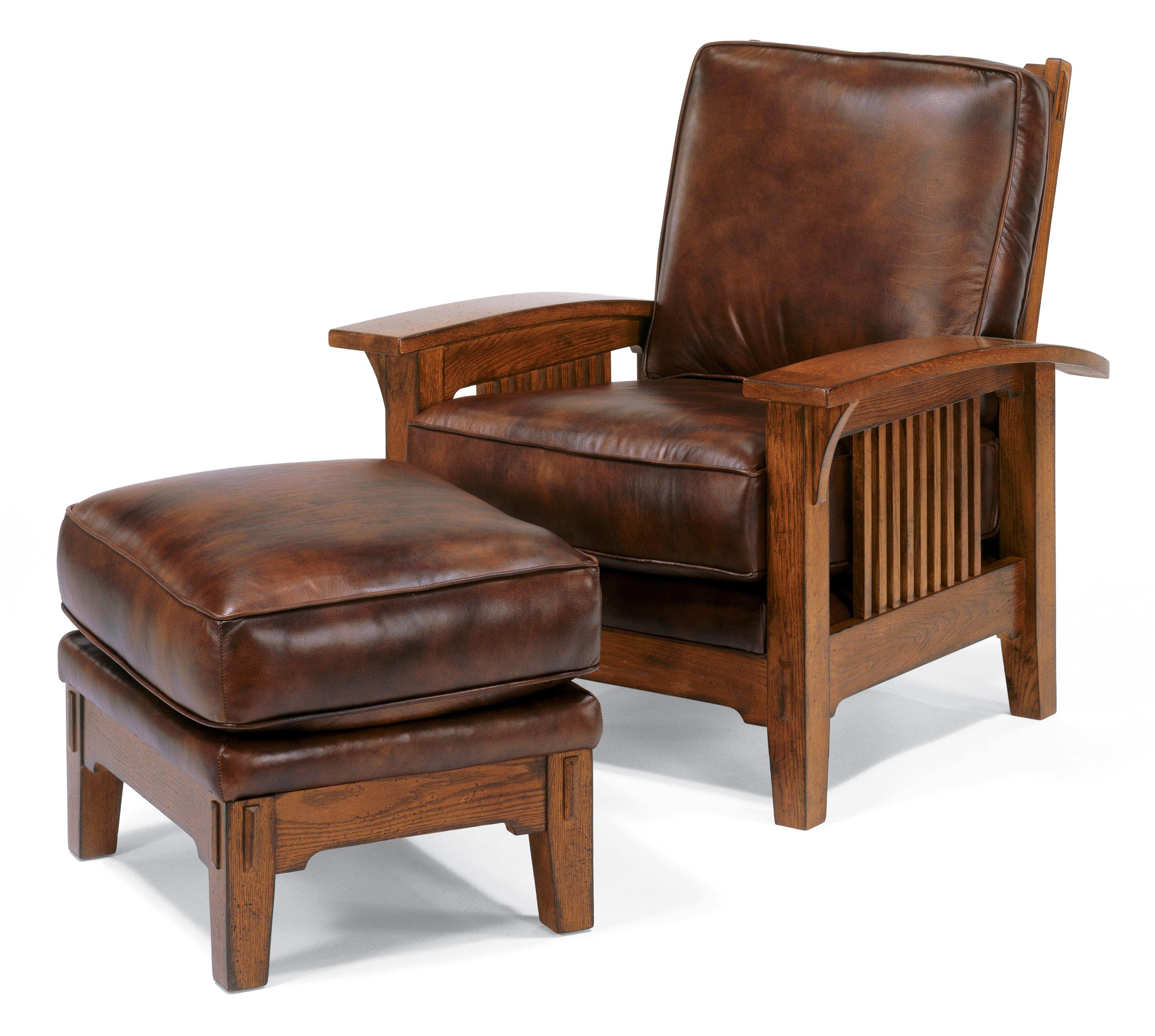 Reading Chair And Ottoman Furniture Alluring Leather Chair And Ottoman For Cozy