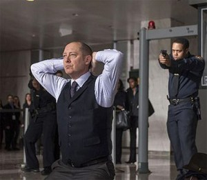 "James Spader in ""The Blacklist"" on NBC."