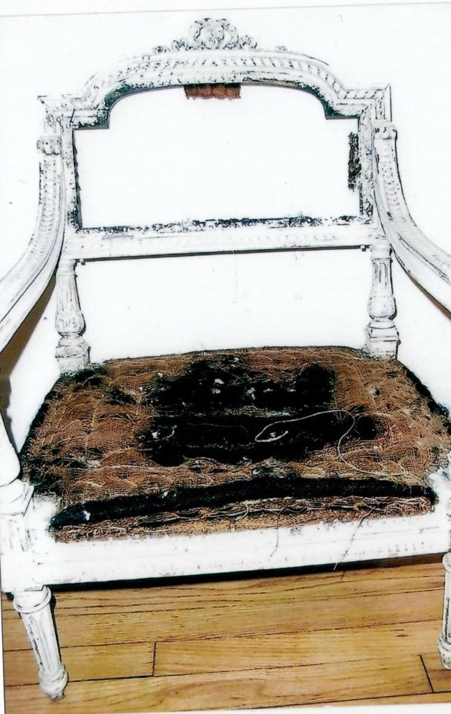 fauteuil prie dieu style Louis XVI