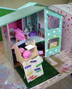 summer camp doll house