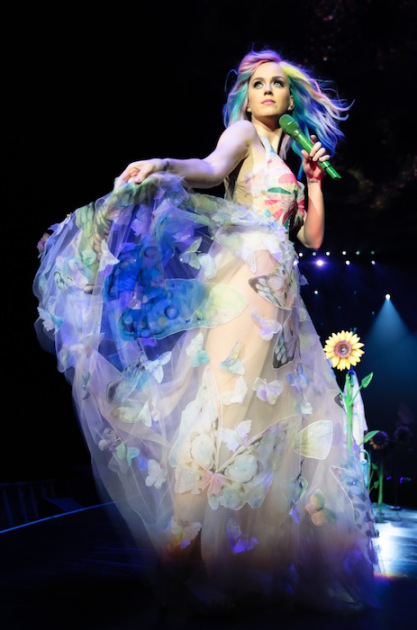 Katy Perry's Gown for Prismatic World Tour, Valentino
