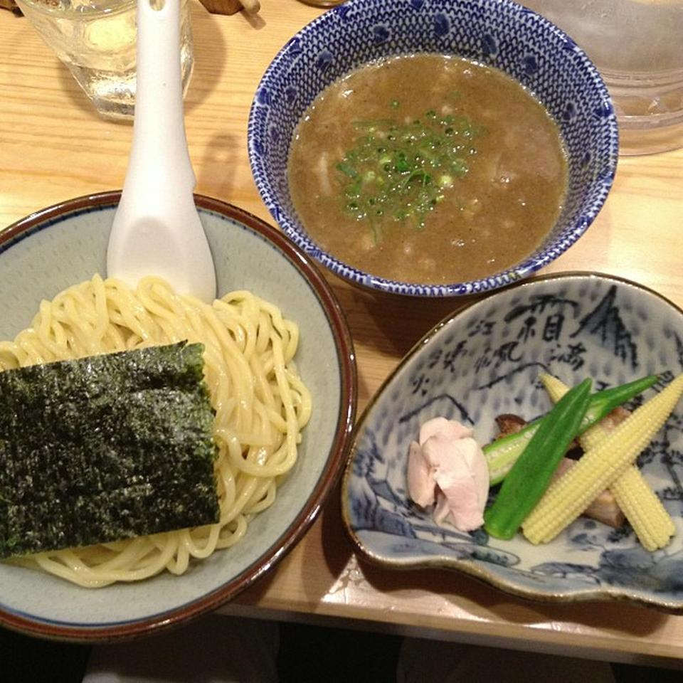 Noodles at Kagari in Ginza, Tokyo