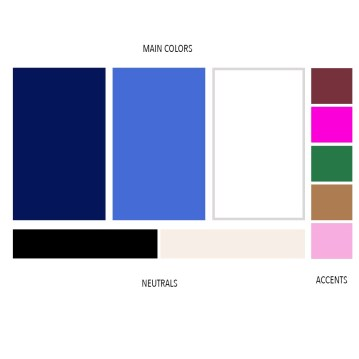 Wardrobe Color Palette