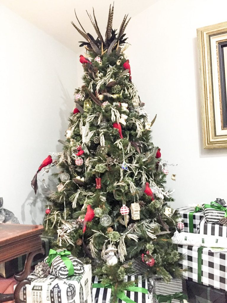 Michaels Dream Tree Challenge 2017. Birds of a Feather Tree.