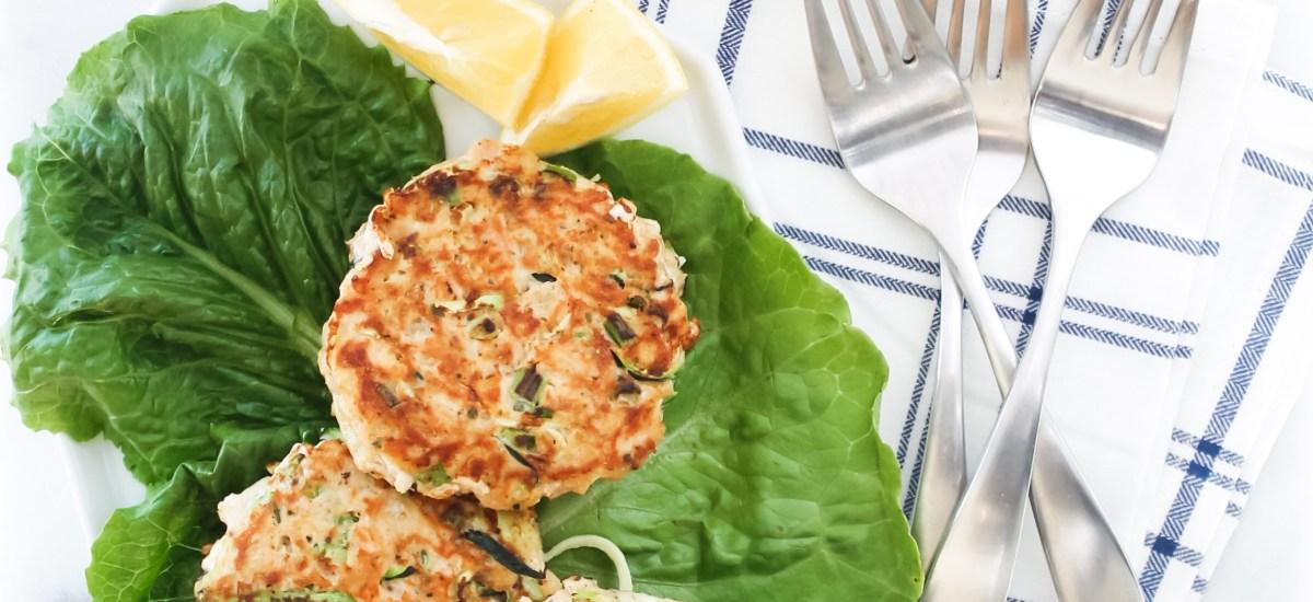 Healthy Zucchini Tuna Cakes