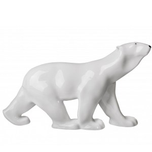 Porcelain figurine Bear coming