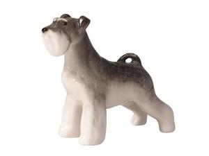 Dog figurine Zwergschnauzer