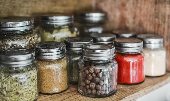kitchen storage for a zero-waste home