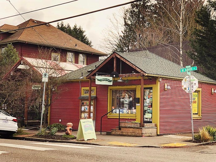 Green Bean Books in the Alberta Arts District