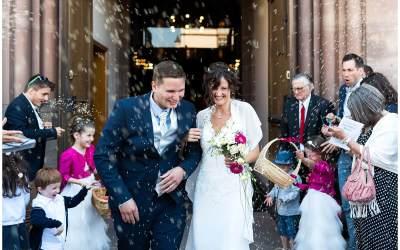 Mariage à la cour de Honau à Strasbourg