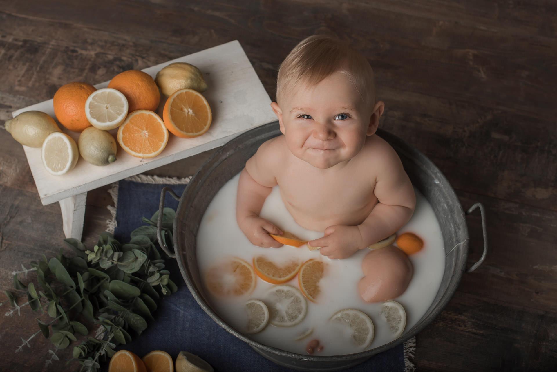 Bain de lait