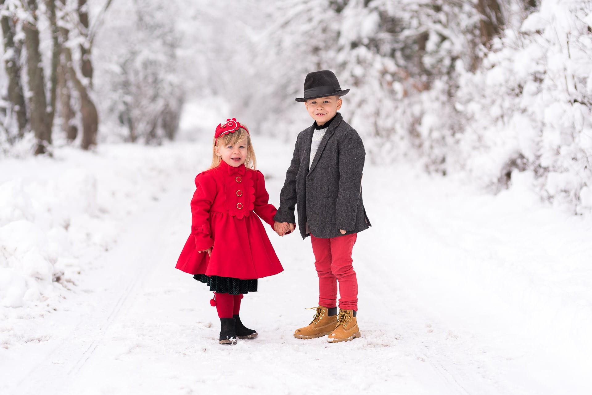 neige enfant photo