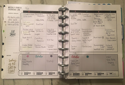 health and fitness planner pages