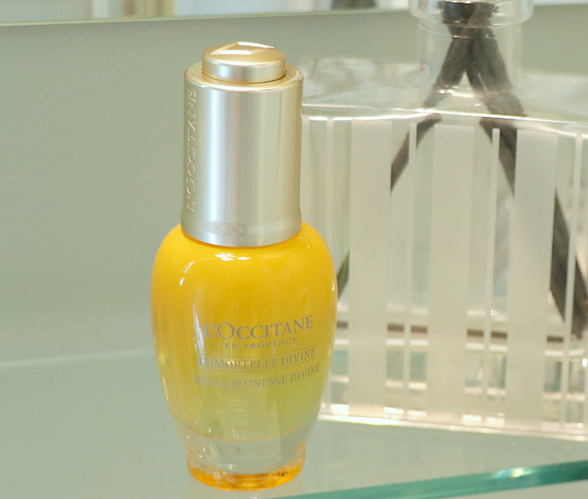 L'Occitane Divine Youth Oil, L'Occitane Immortelle Divine Youth Oil, Anti-Aging Oil, L'Occitane Facial Oil