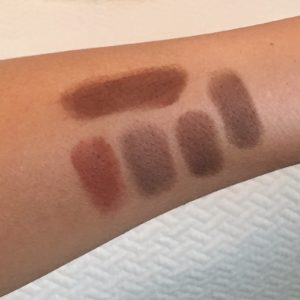 Too Faced Just Peachy Matte Swatches Too Faced Peach Tart Swatches Too Faced Summer Yum Swatches Too Faced Charmed I'm Sure Swatches Too Faced Truffled Swatches Too Faced Cocoa Chili Swatches