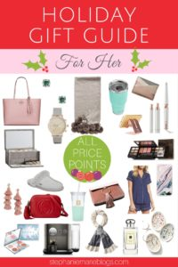 christmas gifts for her | holiday gift guide for women | christmas gift ideas for wife