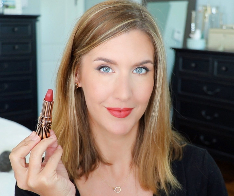 Charlotte Tilbury Hot Lips 2 Viva La Vergara Lip Swatch