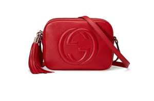 The red crossbody that's lightweight, holds a ton and goes with everything!