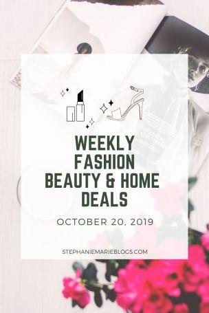 October 20 weekly online deals