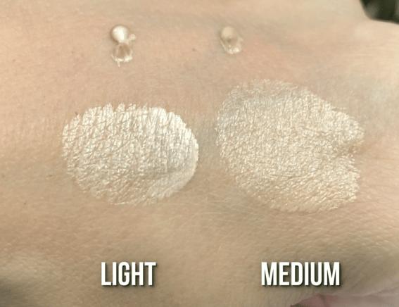 drugstore makeup - loreal lumi glotion swatches
