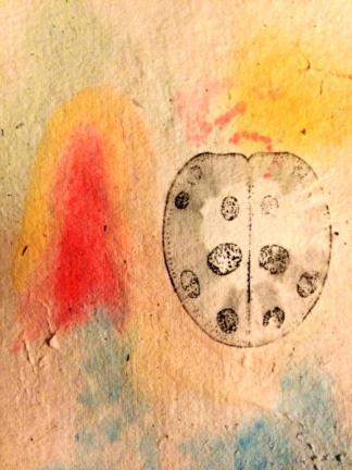 Watercolor, ink
