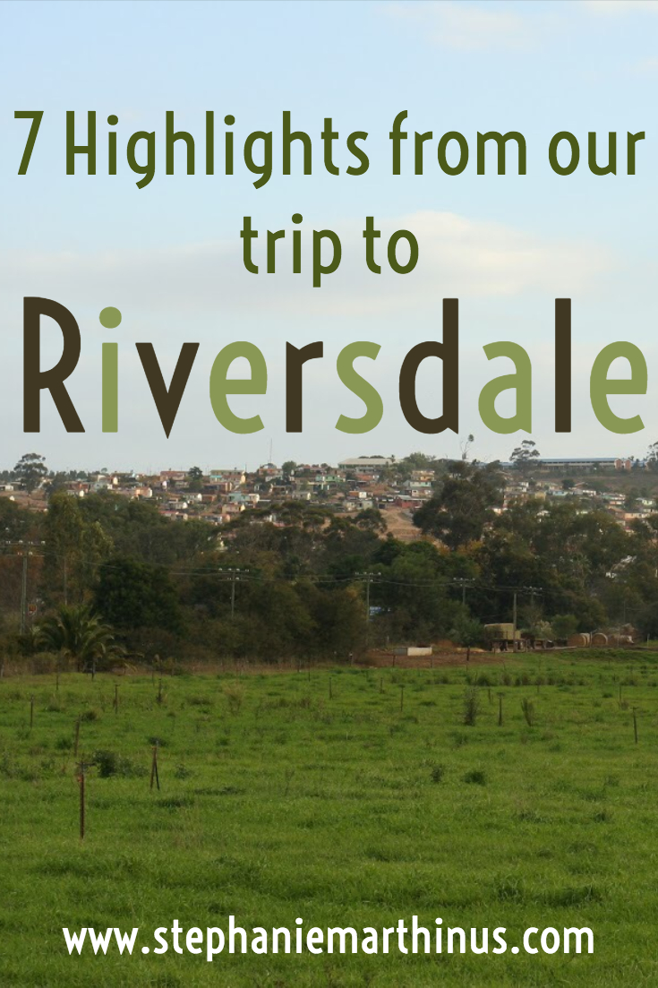7 Highlights of our trip to Riversdale