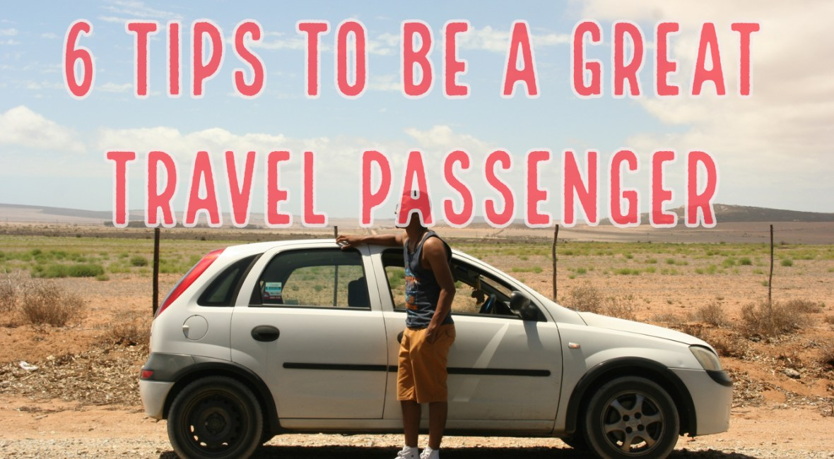 6 Tips to be a Great Travel Passenger