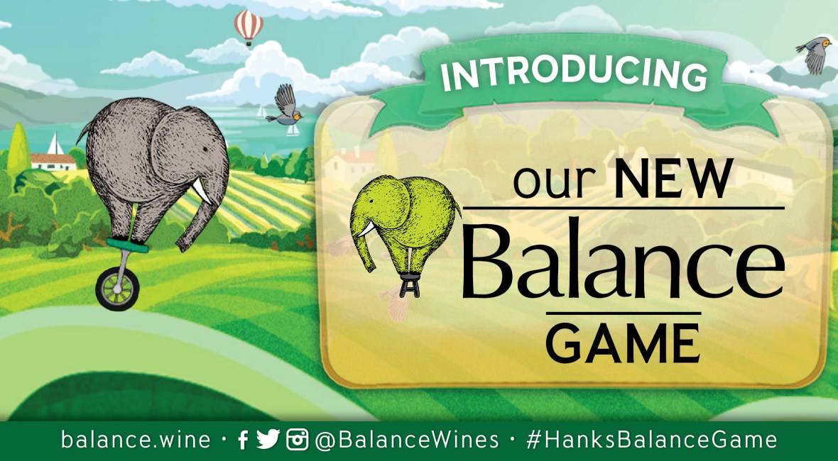 Follow Hank, the Balance Elephant