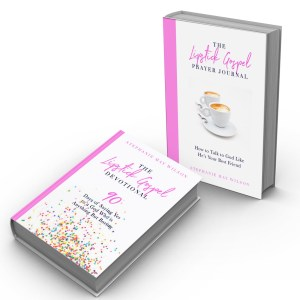 The Lipstick Gospel Devotional & Prayer Journal - StephanieMayWilson.com