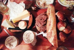PDC Cheese platter