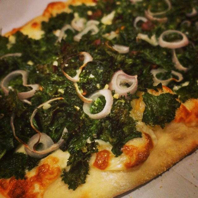 Kale pizza Insta