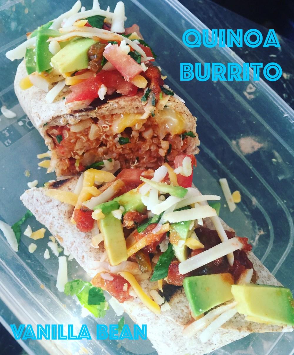 Lunch box burrito