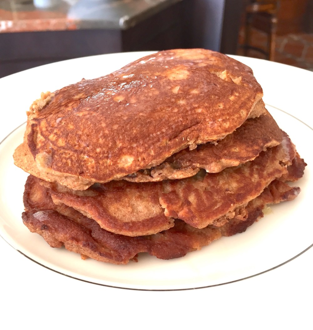 Paleo pancake stack