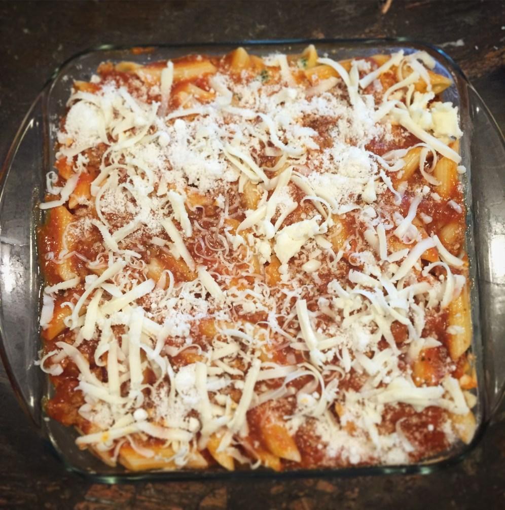 Lazy Lasagna un baked