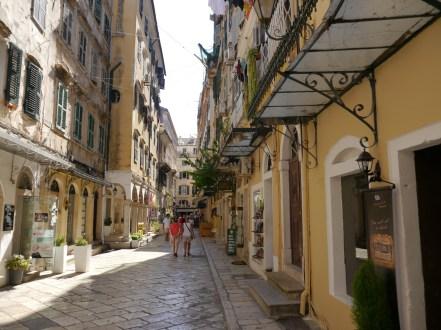 Korfu-Stadt.