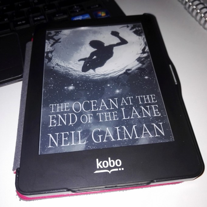 Currently Reading: Neil Geiman, The Ocean at the End of the Lane.
