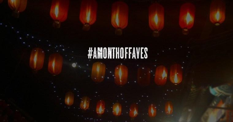 Ein Monat der Favoriten (#amonthoffaves)