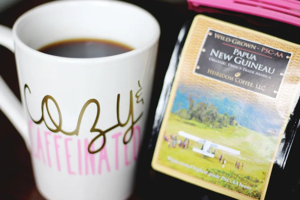 heirloom coffee // stephanieorefice.net