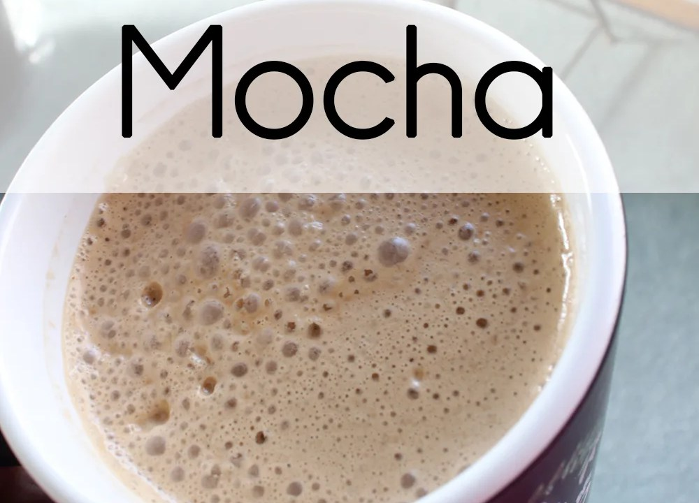 Whole 30 Mocha // stephanieorefice.net