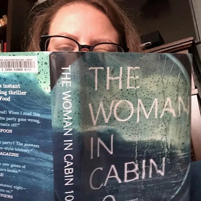 the woman in cabin 10 // january 2018 // stephanieorefice.net