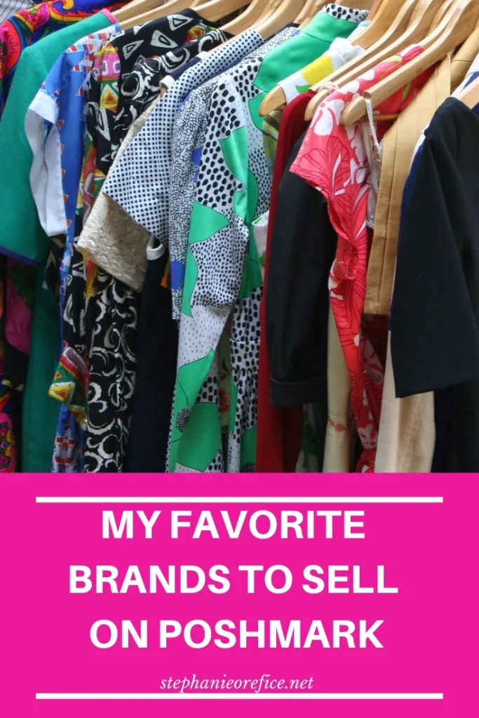 My favorite brands to sell on Poshmark