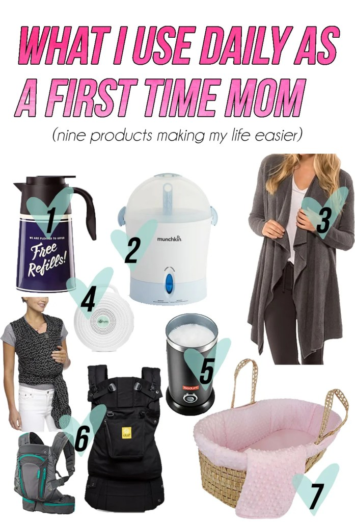 daily products first time mom